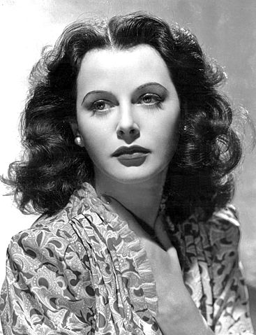 Hedy Lamarr, en la década de 1930. Imagen de Wikipedia.