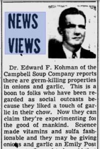 Reseña de la investigación de Edward F. Kohman aparecida en el diario St. Petersburg Times el 1 de febrero de 1948.