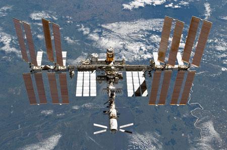 La Estación Espacial Internacional en 2011. Imagen de NASA.