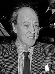 El escritor británico Roald Dahl en 1982. Imagen de Hans van Dijk / Anefo / Wikipedia / CC.