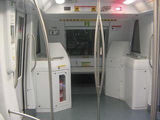 Un tren automático de la línea 9 del metro de Barcelona. Imagen de Javierito92 / Wikipedia.