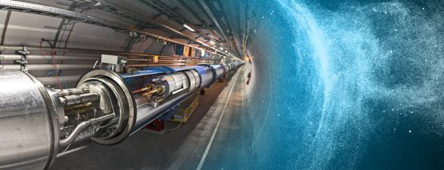 El LHC. Imagen de Daniel Domínguez / Maximilien Brice / CERN.