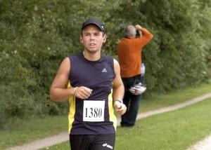 Andreas Lubitz, copiloto del vuelo siniestrado de Germanwings, en una carrera en 2009. Imagen de EFE/Foto-Team-Mueller.