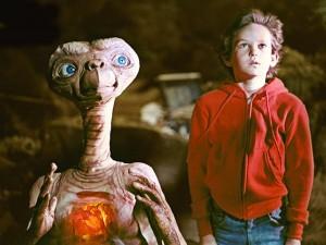 Un fotograma de la película 'E. T., el extraterrestre'. Imagen de Universal Pictures.
