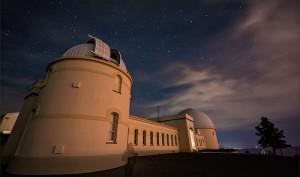El Observatorio Lick de la Universidad de California, en la primera noche de actividad del NIROSETI. Imagen de UC.