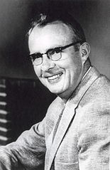 Luis Walter Alvarez en 1961. Imagen de Wikipedia.