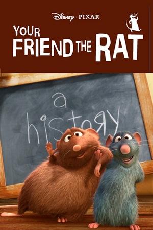 Póster del corto 'Tu amiga la rata'. Imagen de Disney Pixar.