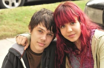 Boyhood. Ellar Coltrane y Lorelei Linklater