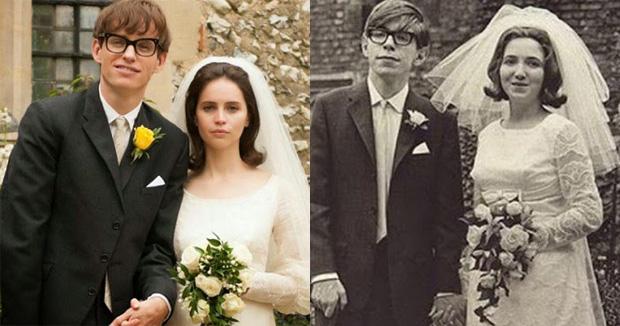 Stephen Hawking y Jane Hawking