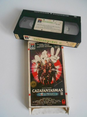 Los-cazafantasmas-2-VHS