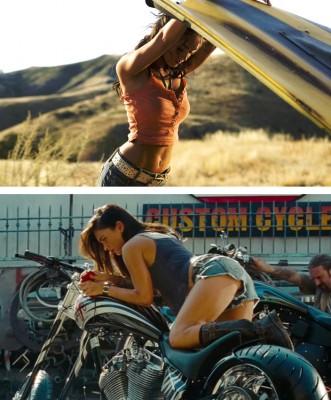 Megan Fox saga Transformers