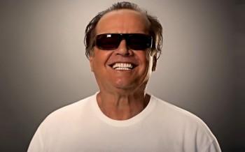 Jack Nicholson gafas negras