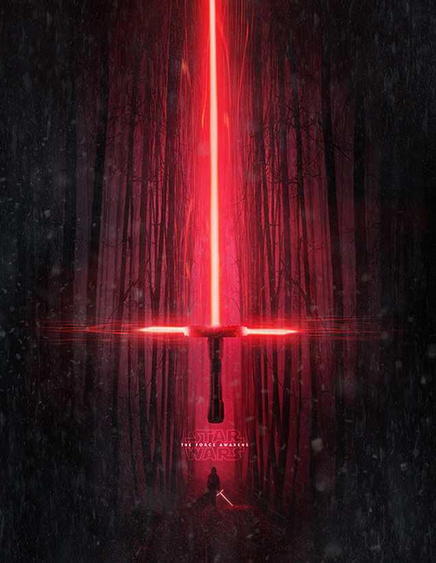 Star Wars VII fan poster 1