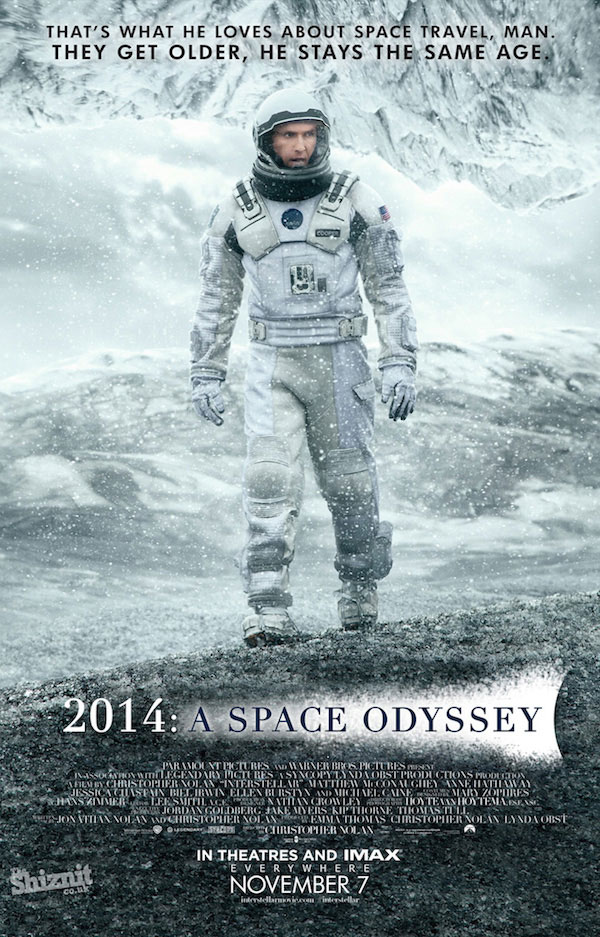 Interstellar poster honesto