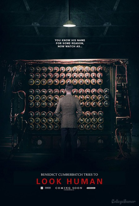 The Imitation Game poster honesto