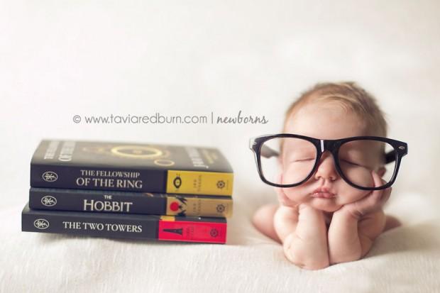 Baby Tolkien / Rata de biblioteca