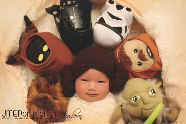 Baby Princesa Leia 2