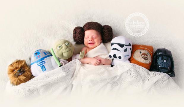 Baby Princesa Leia