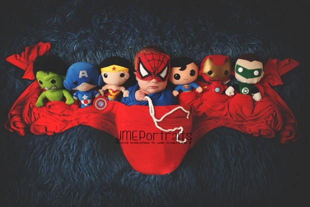 Baby Spider-man