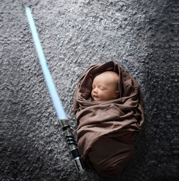 Baby Star Wars Jedi