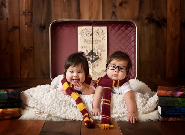 Baby gemelos Harry Potter