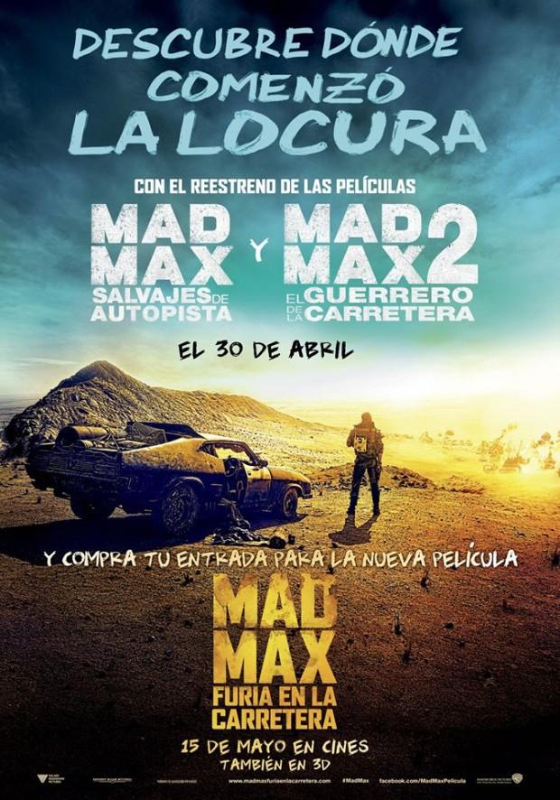 Mad Max poster reestreno