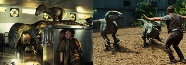 Velociraptors - Jurassic Park
