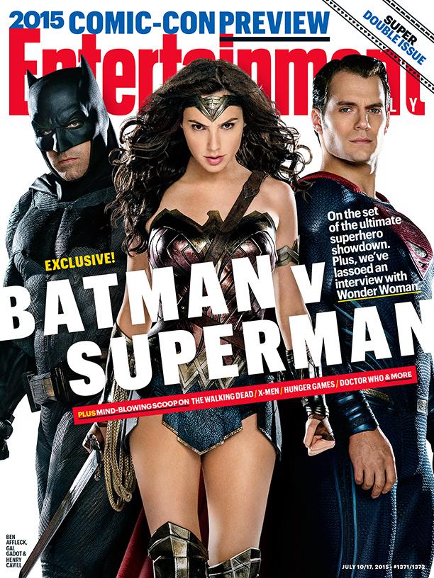 Batman v Superman portada EW