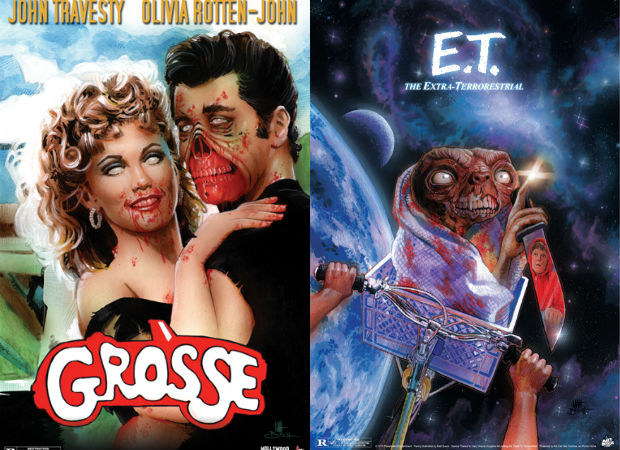 'Grease' y 'E.T.', reinterpretados en 'Hollywood is Dead' (Matt Busch)