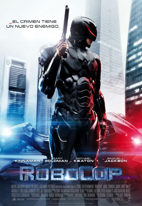 Cartel del nuevo 'Robocop'
