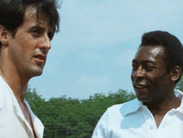 Sylvester Stallone y Pelé.