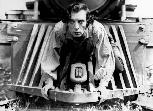 Buster Keaton en 'El maquinista de la general' (1926)