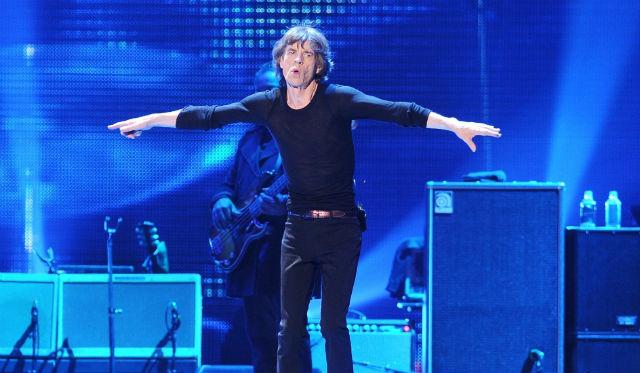 Mick Jagger en un concierto de The Rolling Stones en Newark en 2012 (GTRES).