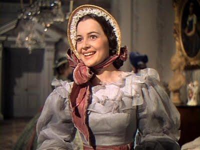 Olivia de Havilland en 'Lo que el viento se llevó'