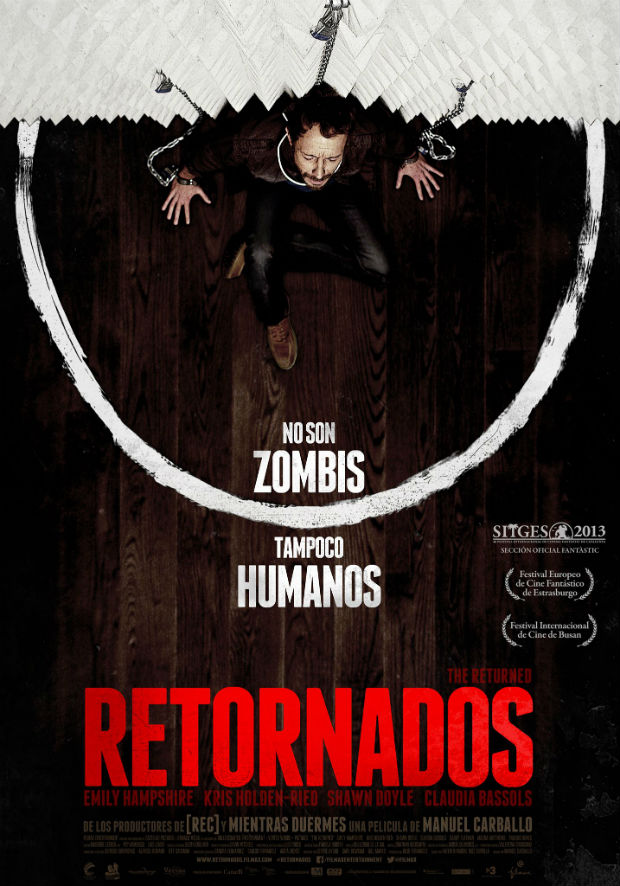 Una película diferente de terror y española con un cartel que remite a los clásicos del género.