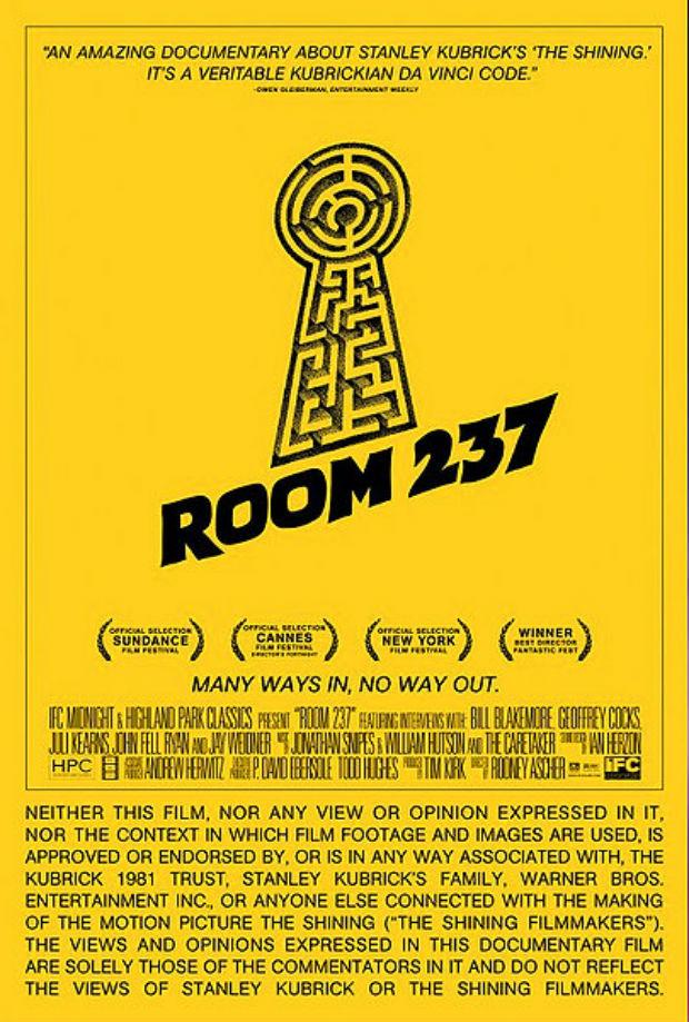 ¿Qué hay detrás de esa mirilla? Un apasionante documental sobre las obsesiones de Kubrick durante el rodaje de 'El resplandor'.