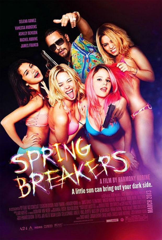 James Franco, rodeado de jóvenes bellezas, protagonizaba uno de los carteles (y películas) más estimulantes de la temporada.