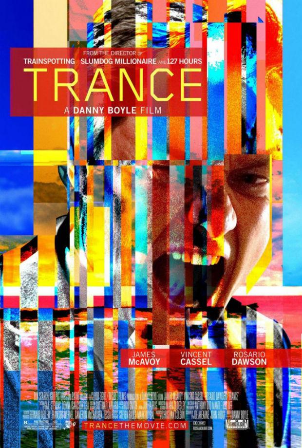 Las películas de Danny Boyle siempre transmiten estilo y modernidad... El cartel de su última obra, por supuesto, también.
