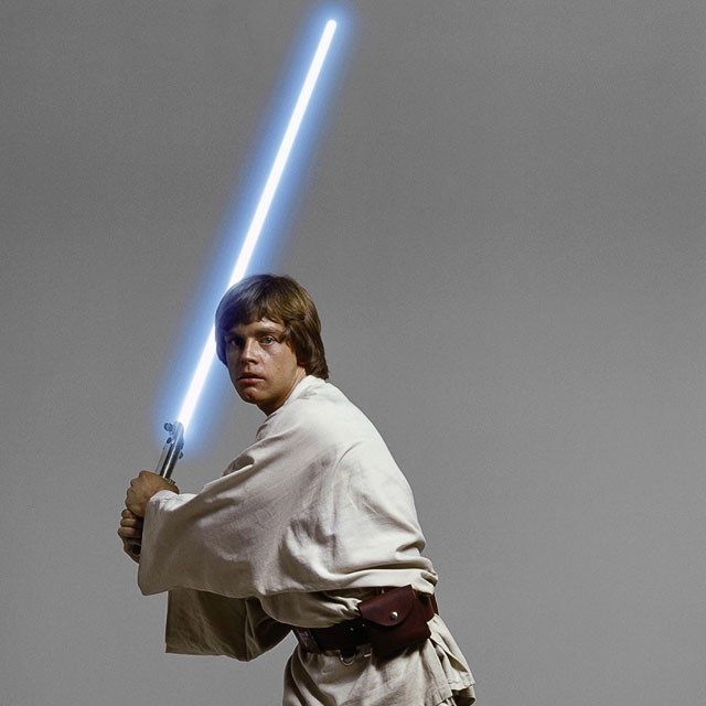 Mark Hamill, como Luke Skywalker (Lucas Film)