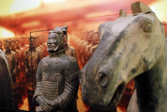 Exposición en Madrid de los guerreros de terracota (GTRES)
