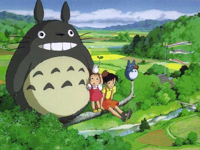 Imagen de 'Mi vecino Totoro', de Miyazaki