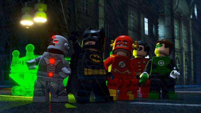 Batman y otros famosos personajes de 'La Lego Película' (WARNER)