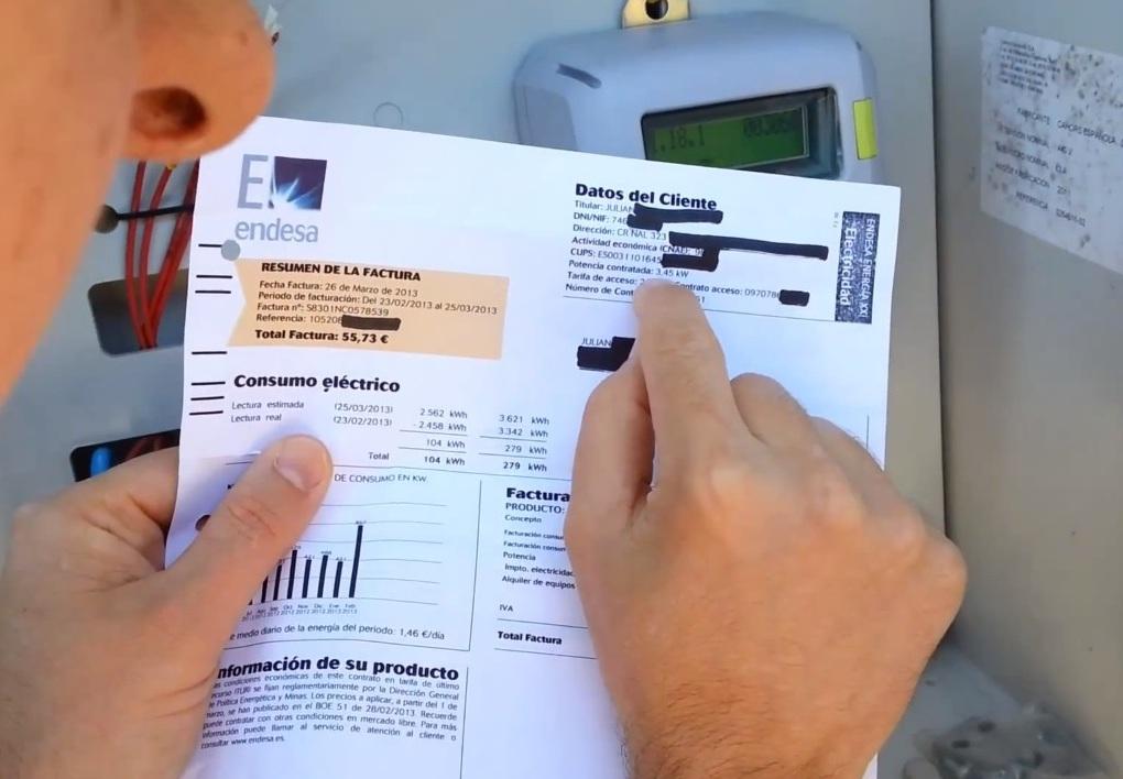 La factura de un coche eléctrico