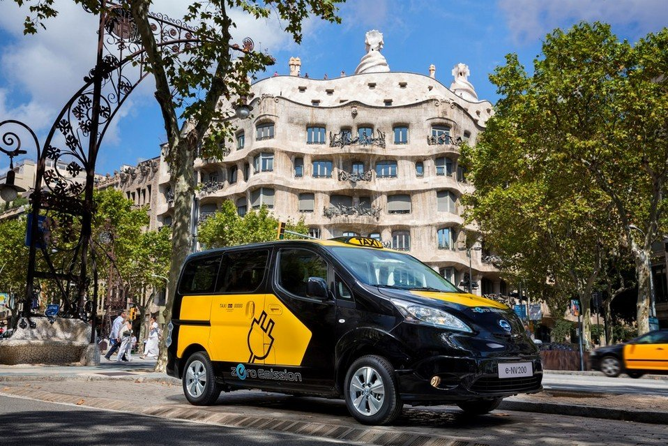 Nissan NV 200 Taxi eléctrico Barcelona
