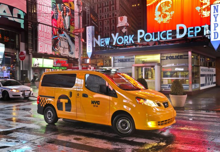 2014 Nissan NV200 Taxi