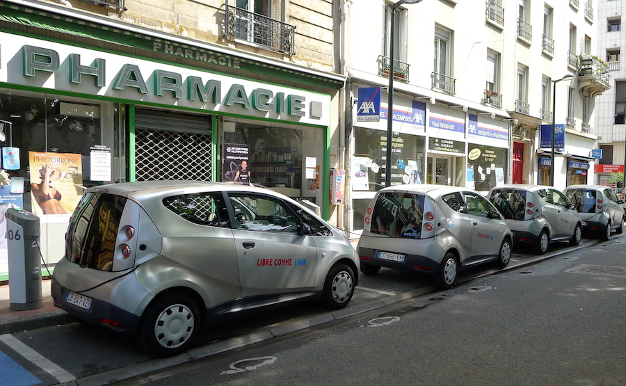 carsharing electrico París
