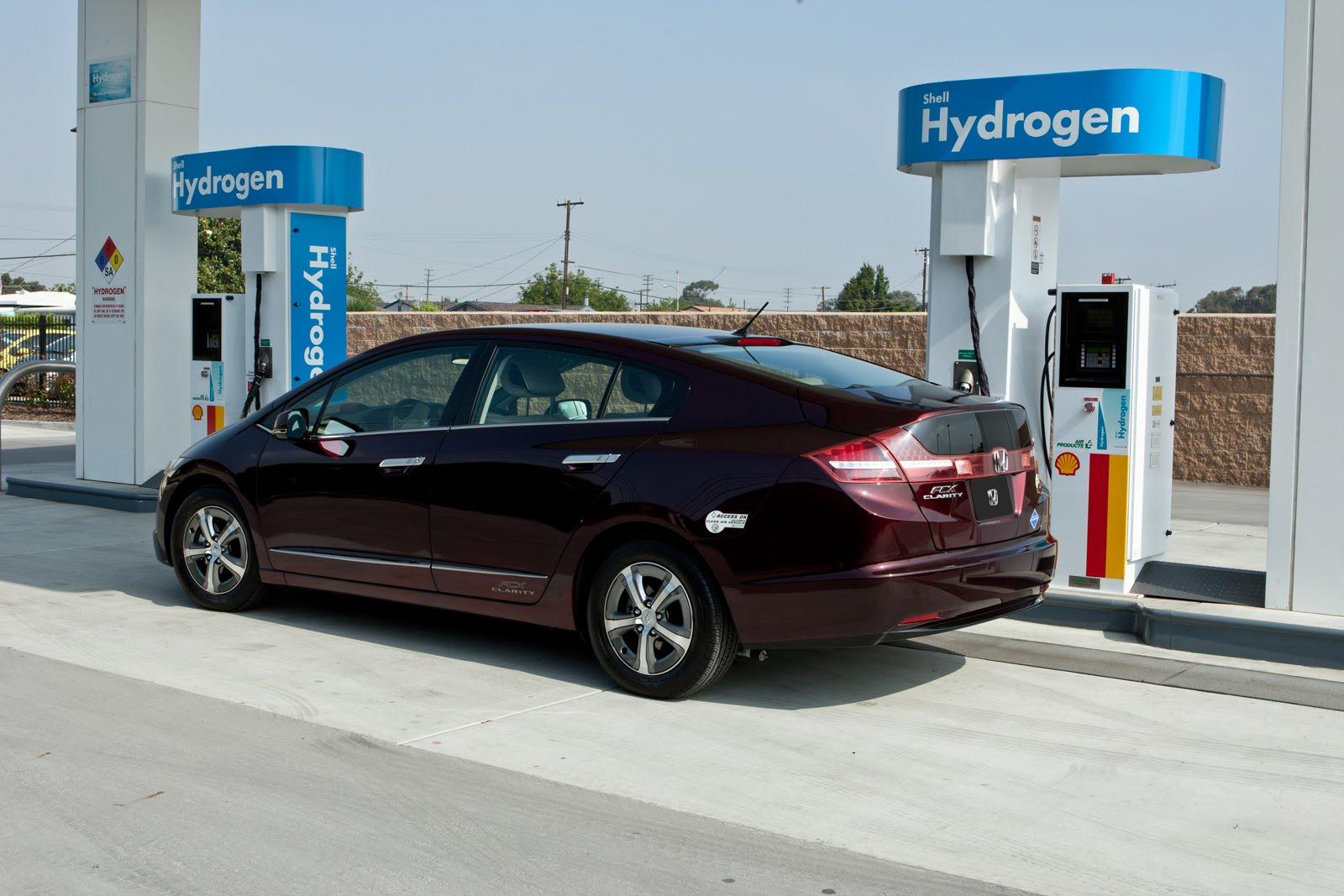 Honda CCX Clarity respostando hidrogeno. Coolpicturegallery