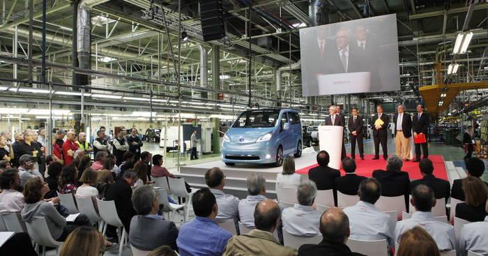 Presentación oficial de la Nissan e-NV200 en Barcelona