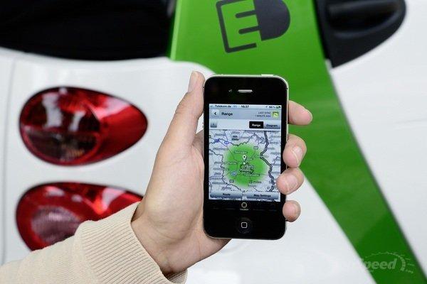 Sistema de localización y control remoto del Smart e-drive. Topspeed