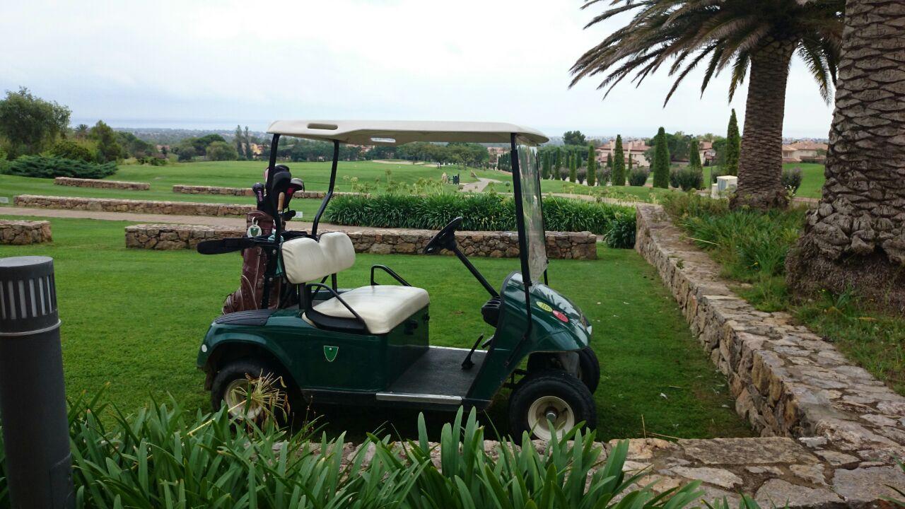 Cochecito eléctrico campo de Golf1